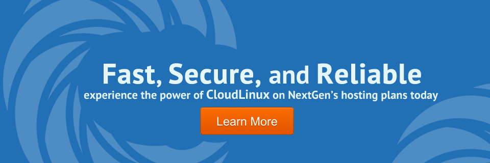 Welcome CloudLinux